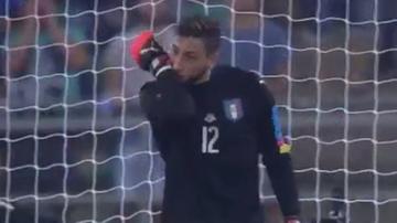 17-latek najmłodszym bramkarzem w historii reprezentacji Włoch