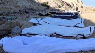 2017-02-22 Morze wyrzuciło na brzeg ciała 74 migrantów