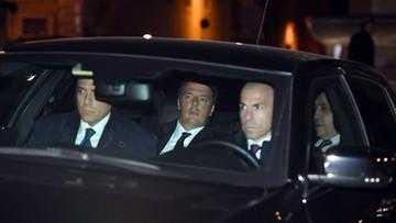 2016-12-07 Premier Włoch Matteo Renzi podał się do dymisji