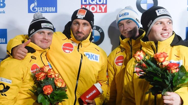 PŚ w bobslejach: Podwójny sukces Niemców, 18. miejsce Polaków