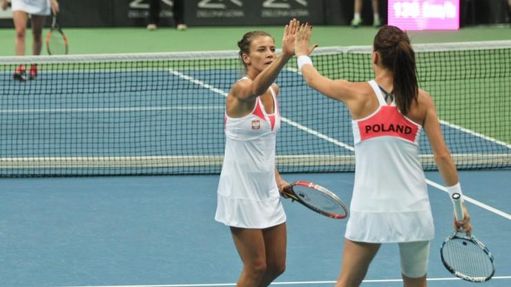 WTA w Pradze: Porażka Rosolskiej w pierwszej rundzie debla