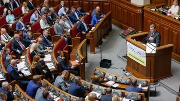 """08-09-2016 16:28 """"To upolitycznianie historii"""". Parlament Ukrainy potępił decyzję Sejmu i Senatu RP ws. zbrodni wołyńskiej"""