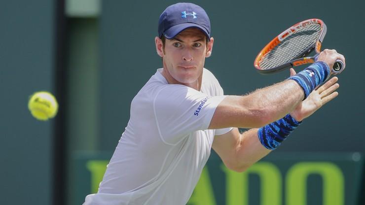 ATP w Miami: Andy Murray wygrał 499. mecz w karierze
