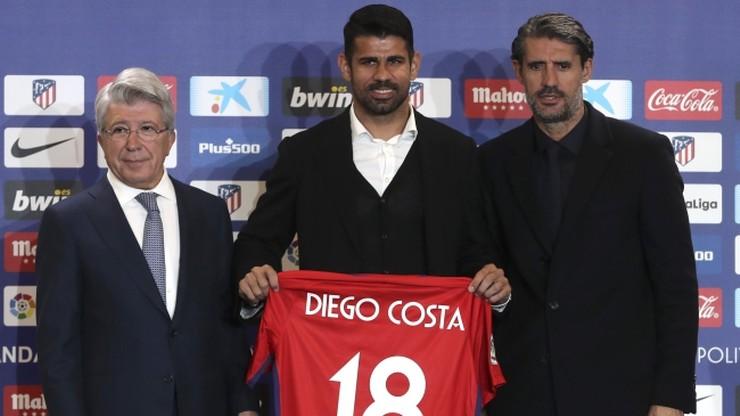 Atletico Madryt zaprezentowało Diego Costę