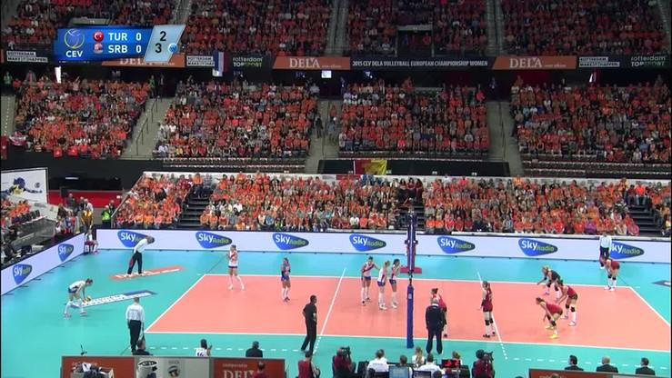 Turcja - Serbia 0:3. Skrót meczu o 3 miejsce