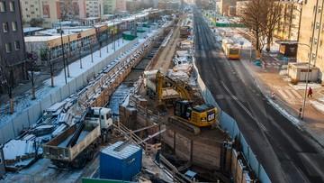 Komunikacyjny paraliż na warszawskiej Woli. Kierowcy tkwią w korkach