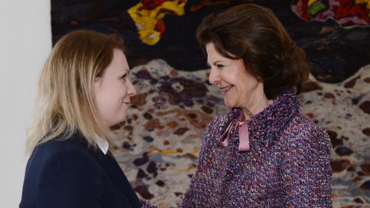 Królowa Szwecji w Polsce. Nagrodziła polską pielęgniarkę