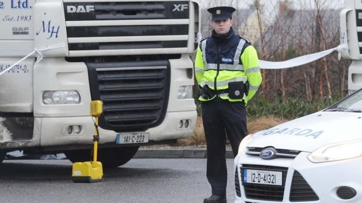 Polak zabity na parkingu dla TiR-ów w Irlandii. Drugi ranny