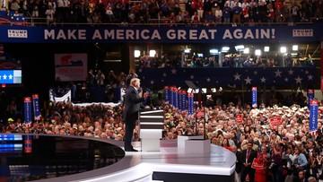 """19-07-2016 06:05 """"Walka na głosy"""" na konwencji Partii Republikańskiej. Bunt przeciwników Trumpa stłumiony"""