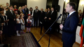 17-04-2016 20:20 Prezydent Duda: pamiętam o Polakach mieszkających poza granicami