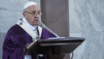 """""""Biblia jak telefon komórkowy"""". Franciszek na Wielki Post"""