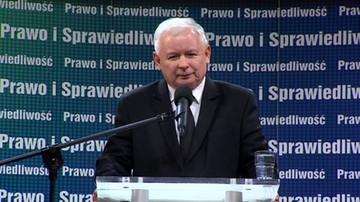 Kaczyński: głos za zmianą, to głos na PiS