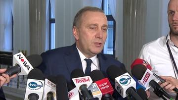 Schetyna żąda wyjaśnień od Błaszczaka i Ziobry. W sprawie listów gończych za protestującymi