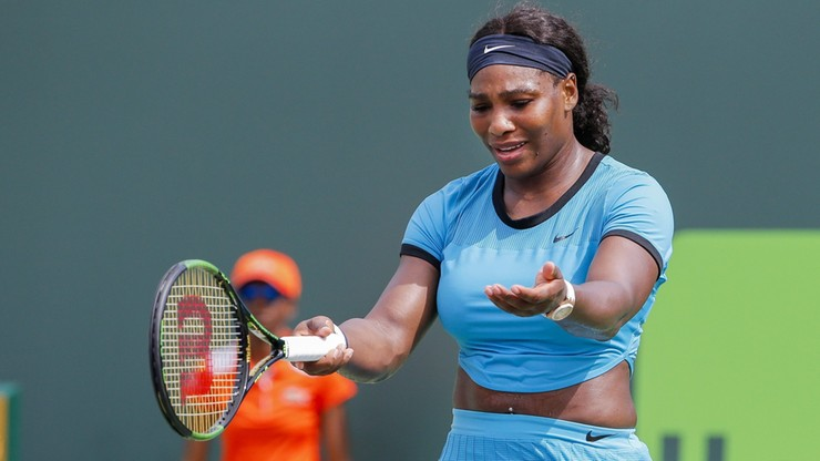 WTA w Miami: Odpadła Serena Williams!