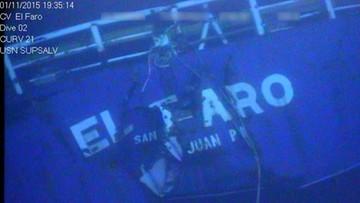 """09-08-2016 21:08 Katastrofa statku """"El Faro"""". Wydobyto """"czarną skrzynkę"""""""