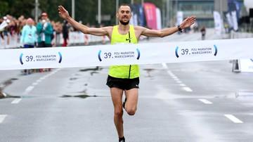 2017-09-24 Zwycięzca Maratonu Warszawskiego: Celem podium mistrzostw Europy