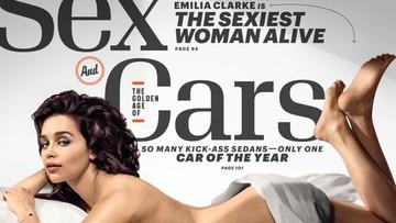 """14-10-2015 06:50 Emilia Clarke, aktorka z serialu """"Gra o tron"""", najseksowniejszą kobietą roku"""