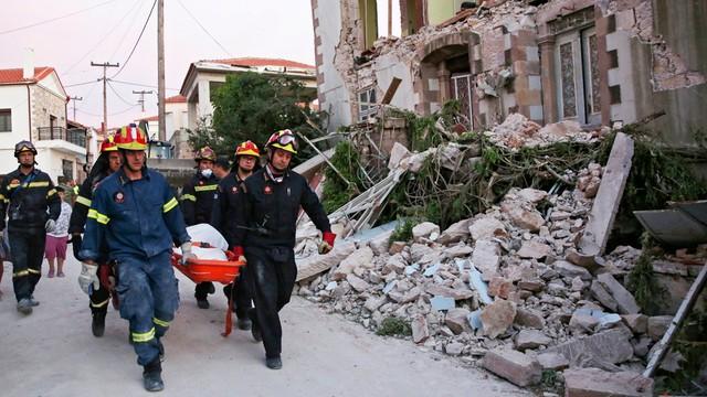 Grecja-Turcja: trzęsienie ziemi, ofiara śmiertelna na Lesbos
