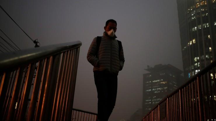 Drugi w historii czerwony alert smogowy w Pekinie
