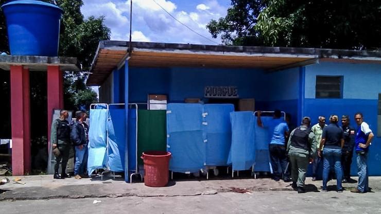 Bunt w wenezuelskim więzieniu. Zginęło 37 osadzonych