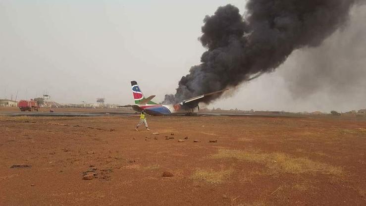 Katastrofa samolotu w Południowym Sudanie. Wielu rannych [ZDJĘCIA]