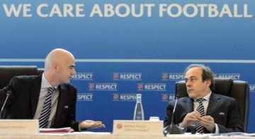 2015-11-10 Infantino: Jeśli Platini będzie kandydować na prezydenta FIFA, wycofam się