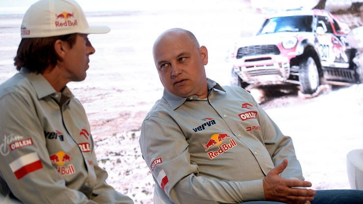Dąbrowski z Czachorem w Baja Russia