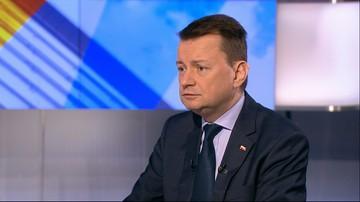 26-04-2016 08:39 Błaszczak: rząd zajmie się ustawą antyterrorystyczną na początku maja