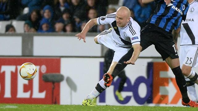 Ponad milion euro dla Legii. UEFA płaci za udział zawodników w EURO 2016