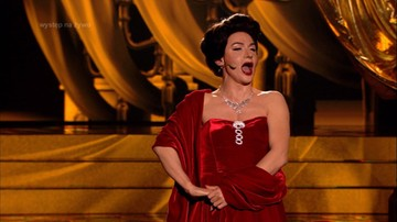 """""""Twoja Twarz Brzmi Znajomo"""" - Kacper Kuszewski jako Maria Callas. Zobacz niesamowity występ"""