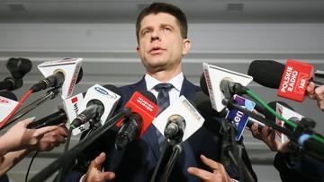 04-01-2017 13:26 Petru zaapelował do senatorów PiS o zgłoszenie poprawek do budżetu