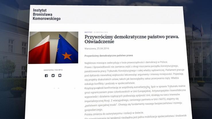 """Polska staje się """"państwem specjalnej troski"""" - list otwarty byłych prezydentów"""