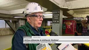 Polkowice: odbyła się pierwsza wizja lokalna w kopalni Rudna
