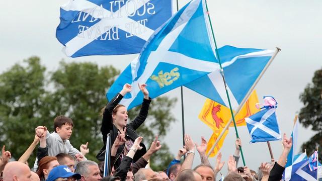 W.Brytania: wzrosło poparcie dla niepodległości Szkocji