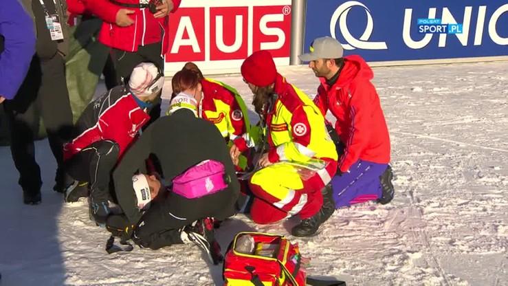 Svendsen padł na mecie! Potrzebna była akcja ratunkowa