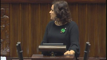 15-09-2017 15:28 Chciała, aby Szyszko wyjaśnił pobicie aktywisty przez strażników leśnych. Marszałek odebrał jej głos