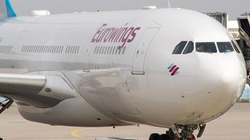 Przymusowe lądowanie samolotu Eurowings w Kuwejcie. Fałszywy alarm bombowy