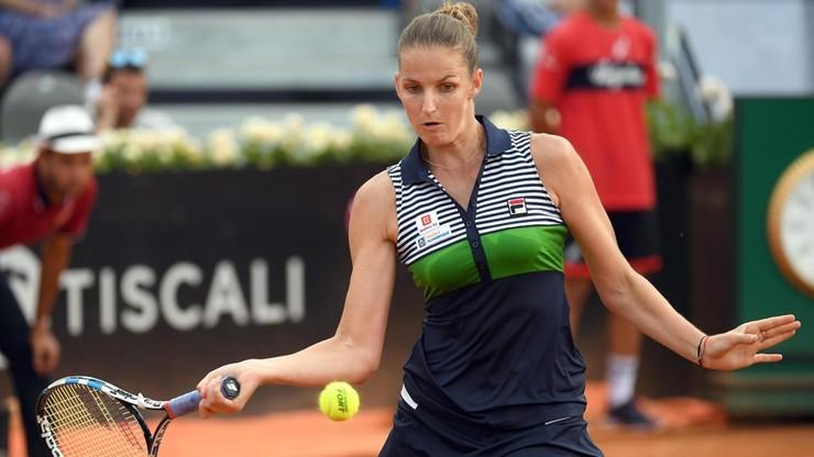 WTA w Rzymie: Awans Muguruzy, porażka Pliskovej