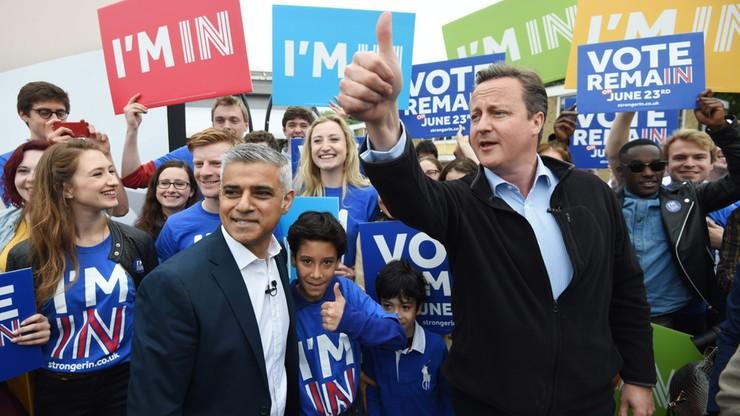 Cameron i Khan razem przekonują do głosowania za UE