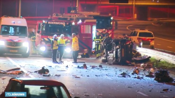 Polak jechał pod prąd autostradą w Holandii. Zginęły dwie osoby