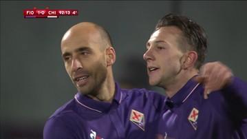 2017-01-11 Puchar Włoch: Awans Fiorentiny po męczarniach. Zadecydował kontrowersyjny karny
