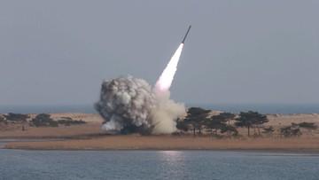 01-04-2016 10:15 Korea Północna najpewniej wystrzeliła pocisk w kierunku morza