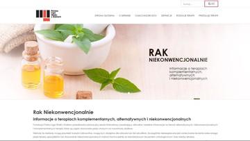 22-02-2017 15:10 Powstała polska strona o alternatywnych terapiach onkologicznych