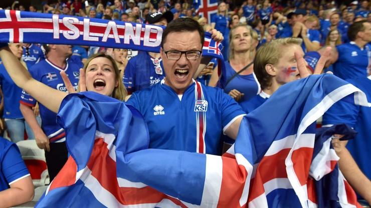 Euro 2016: Prezydent Islandii w sektorze kibiców