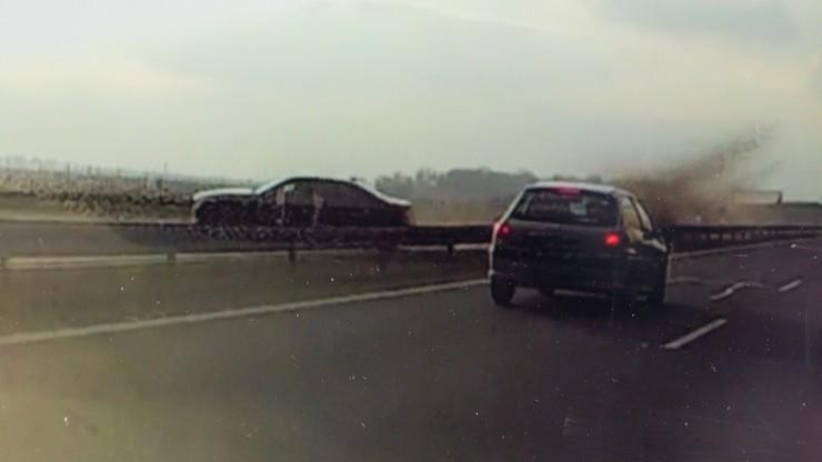 Prokuratura: śledztwo w sprawie kolizji prezydenckiej limuzyny na autostradzie A4