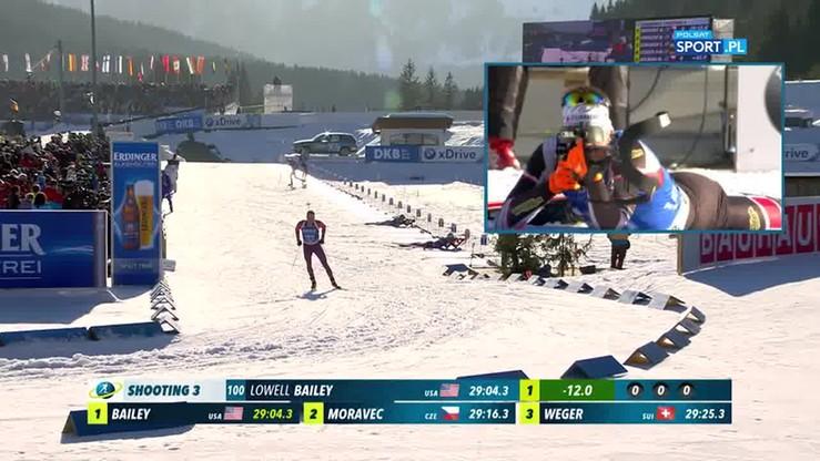 35-letni Amerykanin sensacyjnym mistrzem świata w biathlonie!