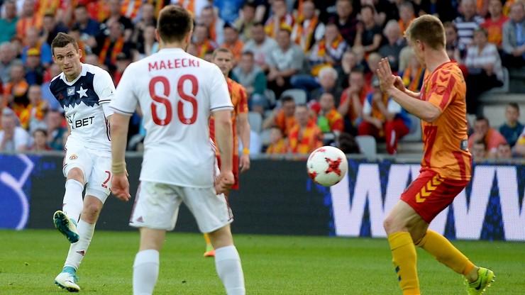 Korona Kielce wygrała z Wisłą Kraków po zaciętym meczu