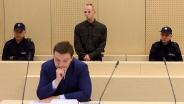 """30-03-2016 11:28 """"Piotr L. jest okrutnym człowiekiem"""". Nożownik z Kórnika skazany na 25 lat więzienia"""