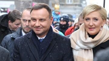 """08-01-2017 07:28 """"Prezydent liczy, że wręczy puchar Stochowi"""". Andrzej Duda planuje wziąć udział w zamknięciu PŚ w Planicy"""
