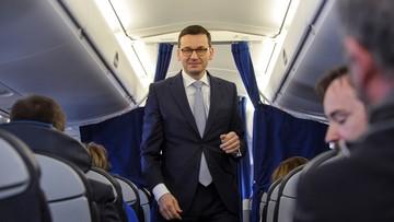 """15-12-2017 20:32 """"Spotkania w kancelarii premiera oraz pilne, tajne dokumenty"""". Tak Morawiecki tłumaczy wcześniejsze opuszczenie szczytu UE"""